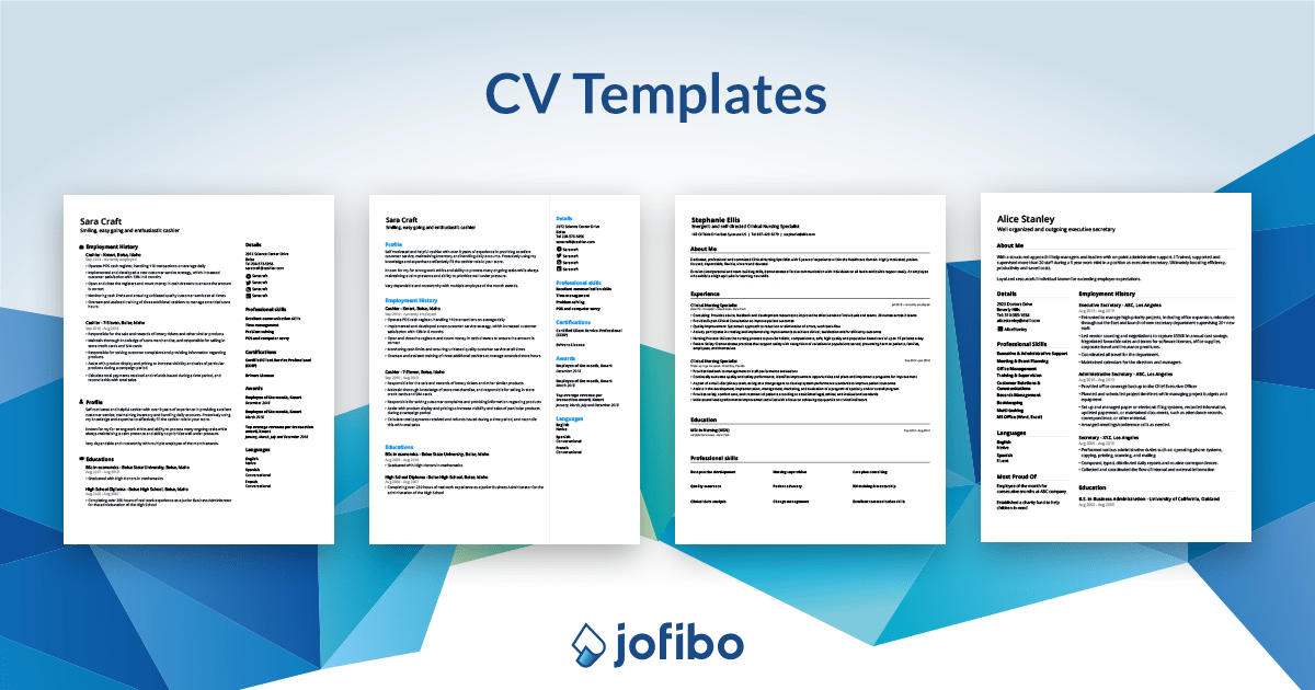 Cv Template Update Your Cv For 2021 Download Now