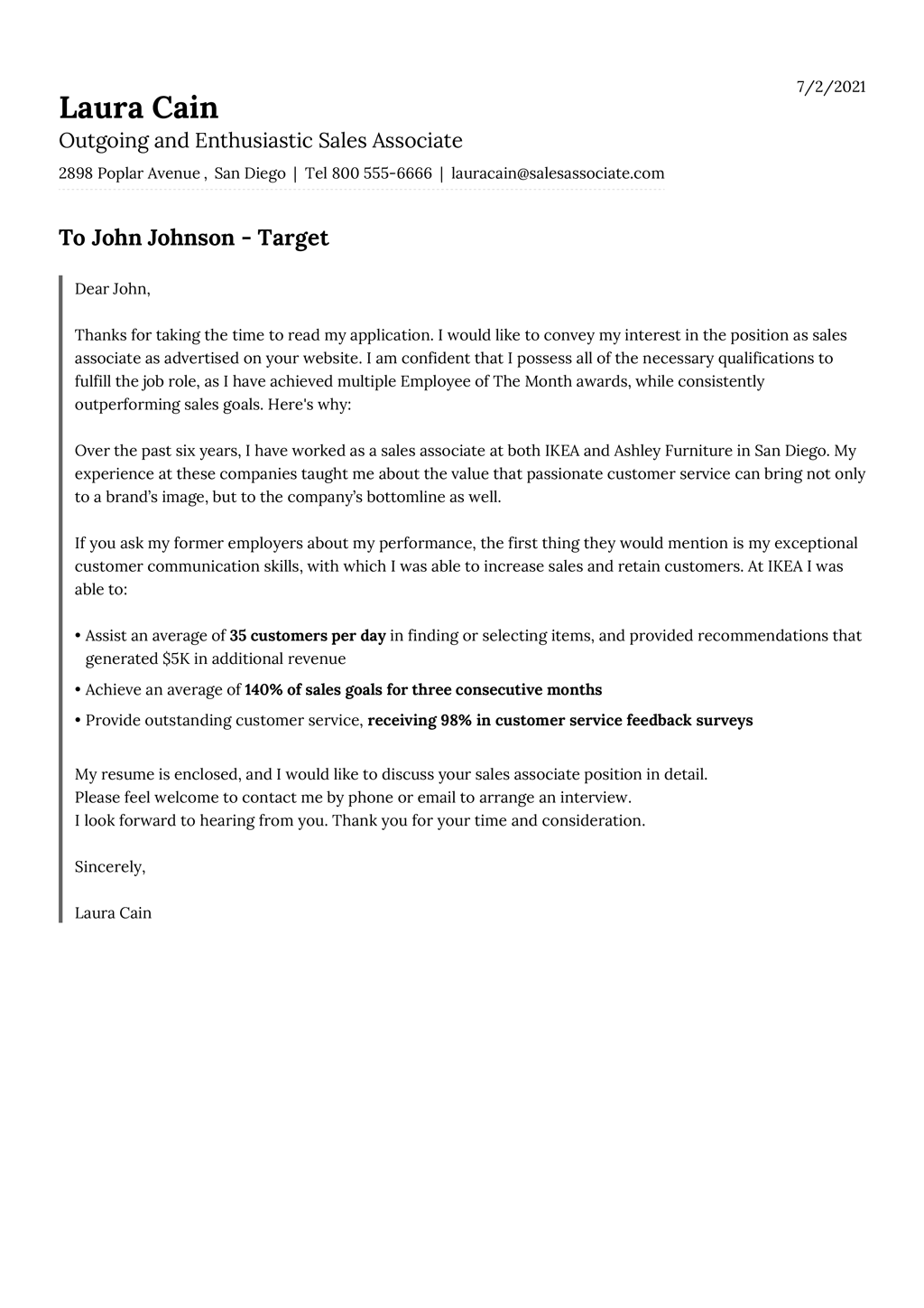 Cover Letter Templates For 2021 Free Download
