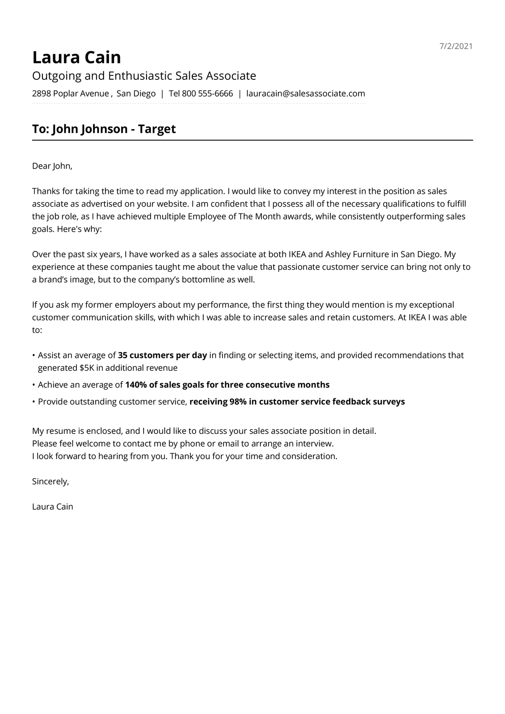 Basic Cover Letter Templates Free from jofibo.com